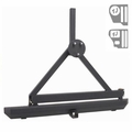 Rock Crawler Rear Bumper, Hitch and Tire Carrier, 87-06 Jeep Wrangler by Rugged Ridge
