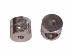 Mirror Arm Bushings, Aluminum, 55-86 Jeep CJ Models by Rugged Ridge
