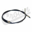 Clutch Cable, 74 Inch Long, fits 1972-1975 Jeep CJ5, CJ6 with 5.0L 304 V8, Cable with Boot