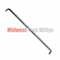Clutch Rod, 10-1/2 Inch, Clutch Pedal Arm to Cross Shaft, Fits 1945-1971 Jeep CJ's, M38, M38A1