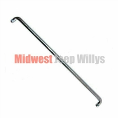 Clutch Rod (clutch pedal arm to cross shaft) with T-84 Trans. Fits 1941-1945 MB, GPW
