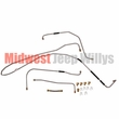 Complete Formed Steel Fuel Line Kit, Fits 1941-1945 Willys Jeep MB and Ford GPW
