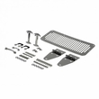 Hood Kit, Stainless Steel, 76-86 Jeep CJ and 87-95 Jeep Wrangler by Rugged Ridge