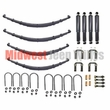 Complete Suspension Rebuild Kit for 1955-1957 Jeep CJ5 and CJ6 Models