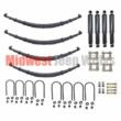 Complete Suspension Rebuild Kit, Heavy Duty, fits 1958-1971 Jeep CJ5 and CJ6 Models