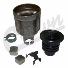 Steering Shaft Coupling Kit, fits 1976-1986 Jeep CJ5, CJ7, CJ8 Models with Manual Steering