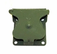 Flange Mount Military Trailer Receptacle Cover Assembly