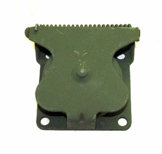Flange Mount Military Trailer Receptacle Cover Assembly, 7731428