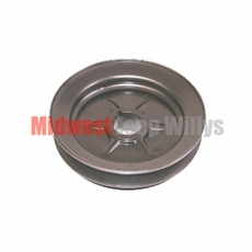 Crankshaft Pulley, Single Groove, 1941-1971 L-134 or F-134 4 Cylinder Engines