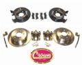 Disc Brake Conversion Kit, Fits 1987-95 YJ Wrangler, 1997-06 TJ Wrangler, 1984-01 XJ Cherokee & 1993-98 ZJ Grand Cherokee with a Dana 35 or Chrysler 8.25""