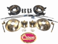 Disc Brake Conversion Kit, Fits 1997-06 TJ Wrangler, 1993-98 ZJ Grand Cherokee with a Dana 35 rear axle from drum brakes to disc brakes.