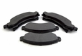 Disc Brake Pad Set, fits 1976-78 Jeep CJ with Six Bolt Caliper Plate
