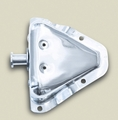 Door Latch Bracket, Stainless Steel, Right 81-95 Jeep CJ Wrangler by Rugged Ridge