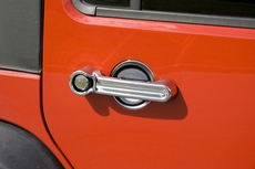 Door Handle Cover and Recess Guard Kit, 07-17 Jeep Wrangler by Rugged Ridge