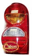 Driver Side Rear Tail Lamp, fits 2002-04 Jeep Liberty