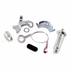 """Drivers Side Self Adjusting Hardware Kit, Front or Rear Brakes, Fits 1972-78 Jeep CJ with 11"""" Brakes"""