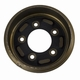 """Brake Drum, New Reproduction, for 1-3/4""""x 9"""" Shoes, Fits WWII 1/4 Ton, M100 Trailer"""