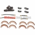 Brake Rebuild Kit for 1948-1949 CJ2A after serial number 215649, 1949-1953 CJ3A, M38
