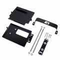 Dual Battery Tray, 97-06 Jeep Wrangler by Rugged Ridge