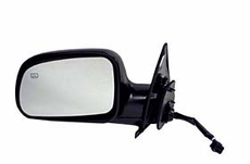 Electric Heated Mirror, Right Jeep Grand Cherokee (1999-2002); Right side; Black.
