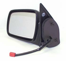 Electric Mirror, Left Jeep Grand Cherokee (1993-1995); Left side; Black; Non-Heated.