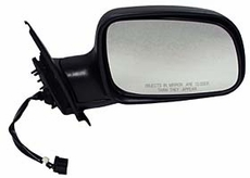 Electric Mirror, Right Jeep Grand Cherokee (1999-2002); Right side; Black.