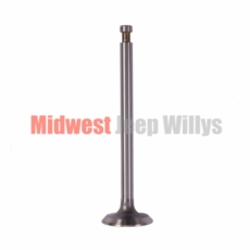 Engine Exhaust Valve for Willys Jeep L-134 CI Flathead 4 Cylinder Engine