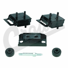 Engine Mount Kit for 1976-1981 Jeep CJ and 1976-1991 Jeep Fullsize SJ with V-8 Engine