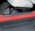 Door Entry Guard Set, Black, 97-06 Jeep Wrangler by Rugged Ridge