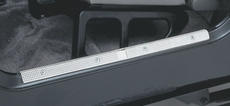 Door Entry Guards, Aluminum, 97-06 Jeep Wrangler by Rugged Ridge