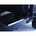 Door Entry Guards, Stainless Steel, 97-06 Jeep Wrangler by Rugged Ridge