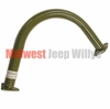 Reproduction Exhaust Head Pipe for 1950-1966 Willys Jeep M38 and M38A1 Models