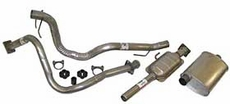Exhaust Kit Jeep Wrangler (1987-1990) with 4.2L engine