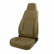 High-Back Front Seat, Late Model Headrest, 76-02 Jeep CJ and Wrangler by Rugged Ridge