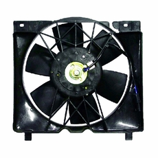 Fan Module w/ 4.0L, includes fan motor, 1987-96 Cherokee XJ