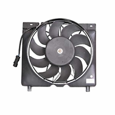 Fan Module w/ 4.0L, includes fan motor, 1997-01 Cherokee XJ