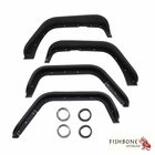 Fishbone Offroad Aluminum Tube Fenders, Fits 2007 to 2017 JK Wrangler, Rubicon and Unlimited