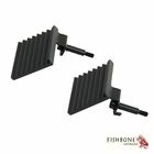 ( FB21040 ) Foot Peg Set, Fits 2007 to 2018 JK Wrangler, Rubicon and Unlimited by Fishbone Offroad