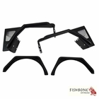 Fishbone Offroad Front and Rear Tube Fender Set for 1997 to 2006 TJ Wrangler, Rubicon and Unlimited