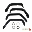 Fishbone Offroad Steel Tube Fenders, Fits 2007 to 2017 JK Wrangler, Rubicon and Unlimited
