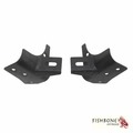Fishbone Offroad Windshield Light Brackets, Fits 1997-2006 Jeep Wrangler TJ