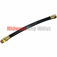 Flexible Fuel Line Hose, fits 1945-1971 Jeep & Willys with L-134 and F-134 4 Cylinder Engines