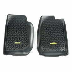 Outland Black Front Floor Liners for 2007-2017 Jeep Wrangler JK, Unlimited JK