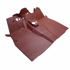 Floor Panel Assembly, Front, 1950-1952 M38