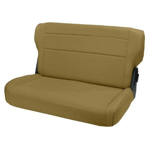 fold and tumble rear seat, spice, 76 95 jeep cj and wrangler by Willys Jeep CJ2A Rear-Seat
