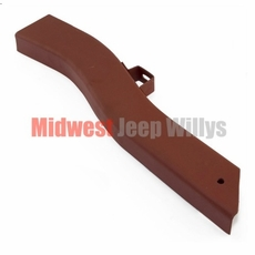 """Frame Repair Rail, Short, Front Right Side, Fits 1941-47 Jeep MB, CJ2A, 18-1/2"""" Inch Section"""