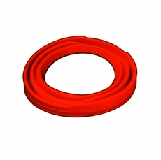 Front Axle Red Silicone Dust Boot Without Zipper for 2.5 Ton M35A1, M35A2, M35A3 Series Trucks, 8376530SR
