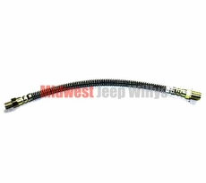 "Front Brake Hose, 14"" Long for Dodge M37, M43, 7351302"