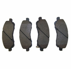 Front Brake Pad Set for 2007-2010 Jeep Patriot and Compass