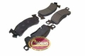 Front Disc Brake Pad Set, 1974-91 Jeep SJ & J-Series, Semi-Metallic